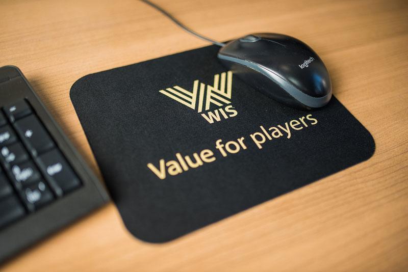 WIS company merchandise